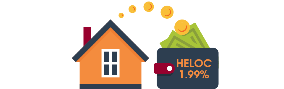 House with money moving to wallet