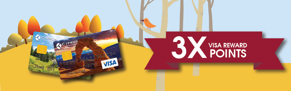 Visa Platinum Rewards Triple Points