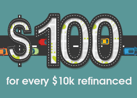 $100 For Every $10k Refinanced